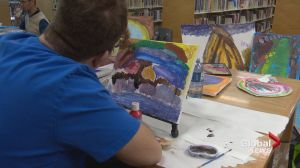 Painting a brighter picture: Calgary artist brings hope with every brushstroke