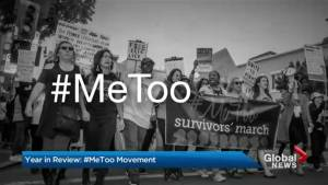 Year in review: #MeToo movement