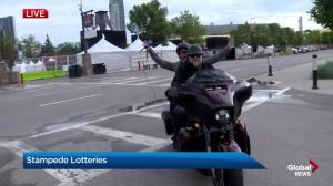 The Harley you can win through the 2019 Calgary Stampede Lotteries