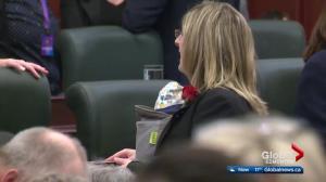 Alberta cabinet ministers becoming new moms changes legislature