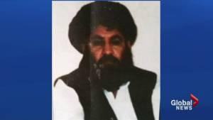 Drone strike takes out Taliban's supreme leader
