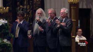 Bush funeral: 'Amazing Grace' sung by The Oak Ridge Boys