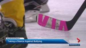 Edmonton hockey team's anti-bullying initiative