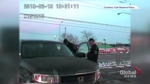 Police release dash cam video of collision with cruiser in Newmarket