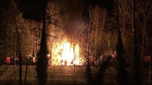 Fire sparks safety debate over Maple Ridge homeless camp