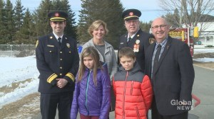 New Brunswick firefighters hope 'Fire Chief for a Day' an opportunity to teach fire safety