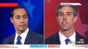 Beto O'Rourke, Julian Castro get into heated debate over immigration