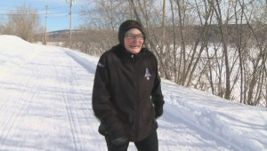Patti Connors prepares to represent Canada at the Special Olympics World Games