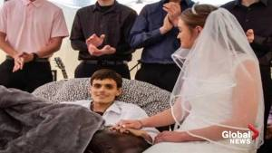 20-year-old fulfills last wish of marrying girlfriend hours before dying of liver cancer