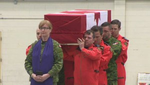 EXTENDED: Ramp ceremony for RCAF Master Cpl. Alfred Barr