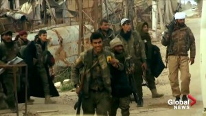 U.S. backed Syrian forces say they launched a 'final' push to defeat ISIS