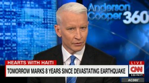 Anderson Cooper gives emotional message about Haiti in response to Trump's comments