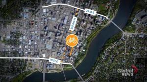 Saskatoon city committee endorses $4.6M downtown bike lane expansion
