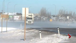 Southern Alberta slammed with blowing snow