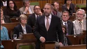 Mulcair wants to know if Canada will be mired in a war 10 years from now