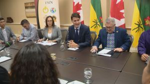 'I am really upset' Justin Trudeau says during meeting with Saskatchewan chiefs