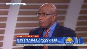 'She owes a big apology to people of colour': Al Roker reacts to Megyn Kelly's comments about blackface