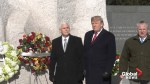 Trump, Pence lay wreath at Martin Luther King Jr. memorial in surprise visit