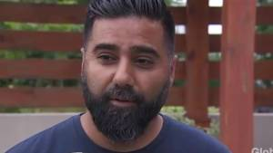 Extended: Friend of Faisal Hussain expresses shock over Toronto Danforth shooting (05:17)