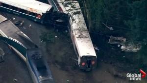 Audio of radio chatter between Amtrak train, dispatcher in moments following derailment