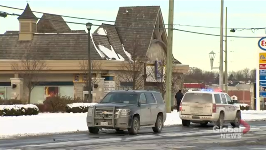 Armed man reported in Vaughan bank with customers