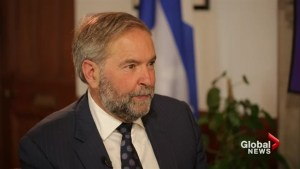 Biggest surprise this parliamentary session was abandonment of key liberal promises: Mulcair