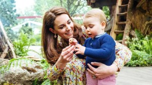 Kate Middleton and Prince William share adorable family photos in newly designed garden