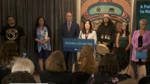 The B.C. government announces new program to assist people with mental health challenges
