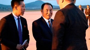 North Korea official headed to U.S. for talks