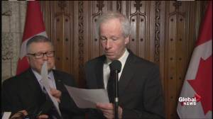Foreign Affairs Minister Stéphane Dion sends message of support following terror attacks in Belgium