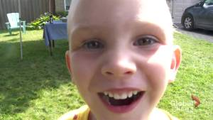 Ajax boy raises money for Sick Kids with lemonade stand