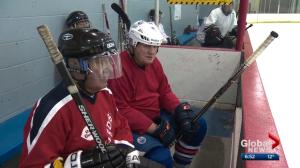 Hockey for life: Meet the elder skates-men