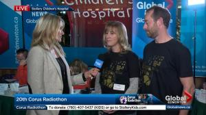 Parents tell Global News about their experience with the Stollery Children's Hospital