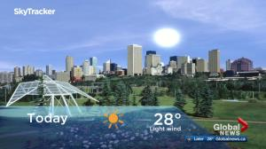Edmonton early morning weather forecast: Tuesday, May 22, 2018