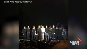 Faith Hill apologizes to fans after Tim McGraw collapses on stage