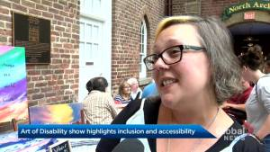 Halifax show highlights the 'Art of Disability' (01:44)