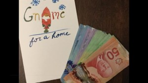 Lylia Essaddam creates Gnome for a Home Valentine's Day cards to help the homeless