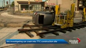 SIU investigating after vehicle rollover at TTC construction site