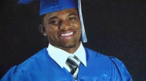 Surveillance footage released after Texas officer fired for gunning down unarmed college football player