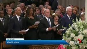 Washington pays respect to Sen. John McCain