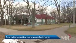 Toronto Islands resident vows to fight eviction