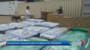 Sunnybrook Hospital donates 32 incubators to Thrive Project Zimbabwe