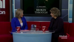 Joanne Paulson's newest novel 'Broken Through' based on real life event