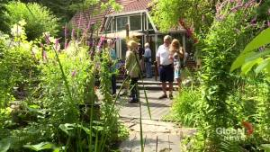 Pointe-Claire gardeners show off backyard urban oasis