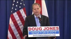 Doug Jones describes 'nice, pleasant' phone call with Donald Trump