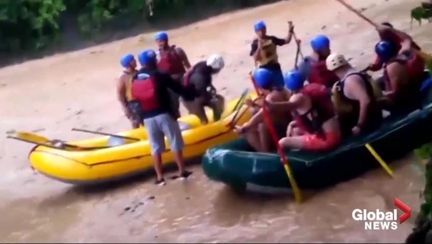 Americans, 1 tour guide killed in Costa Rican raft accident