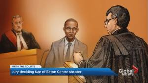 Jury deliberates on fate of Eaton Centre shooter
