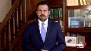 Puerto Rico governor won't seek reelection