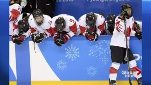 Women's hockey settling for silver