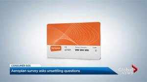 Aeroplan withdraws survey amid criticism (02:09)